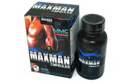 美國【MMC】MAXMAN二代陰莖增大丸陰莖增大增粗不反彈屈臣氏藥局正品保證